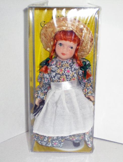 赤毛のアン6.5インチ磁器人形