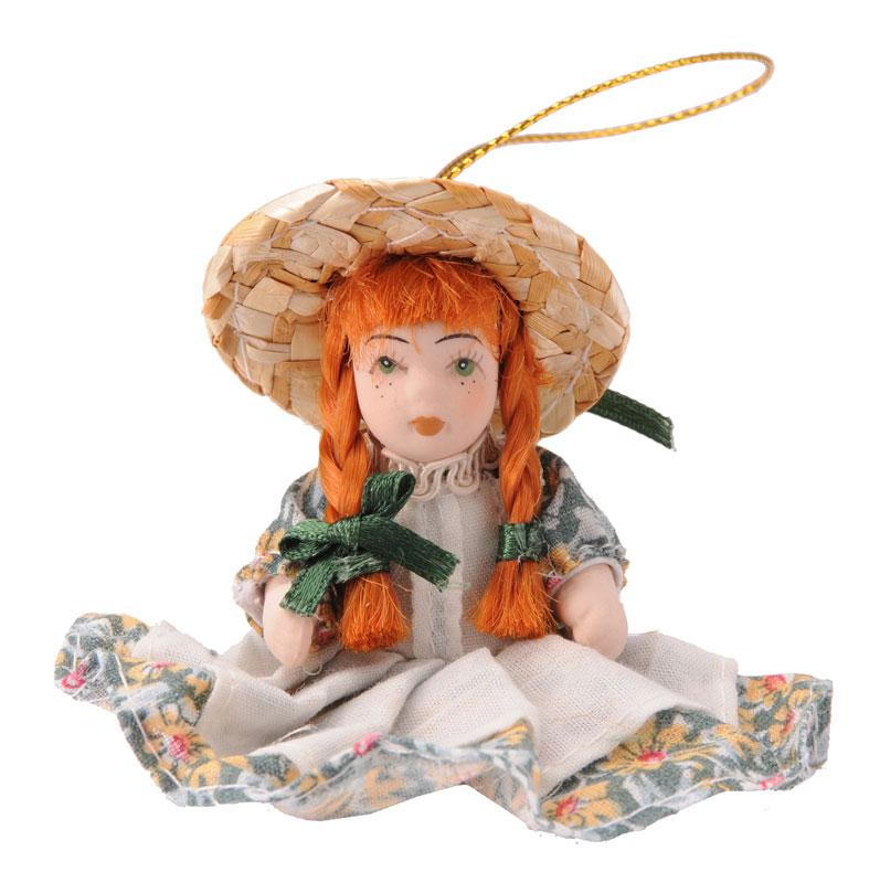 赤毛のアン2.5インチ磁器人形