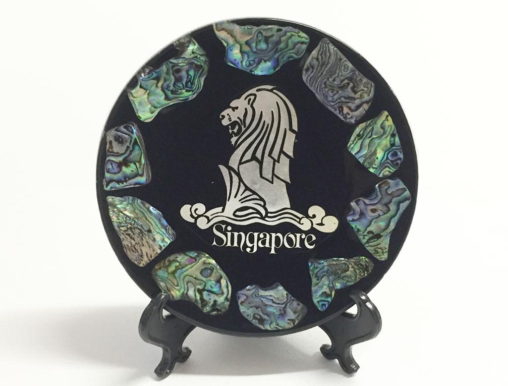シンガポール パウアシェルトレイ